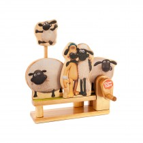 Shaun the Sheep Jumping Timmy - Timberkits - Self Assembly Wooden Working Model