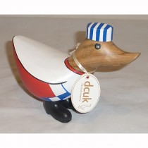 Ducky Chef - Natalie - DCUK Wood Wooden Duck - Head Cook 13 cm