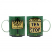 Tea Stop Ceramic Mug - MPH Roadside - Biscuit Request Gift Present Harvey Makin